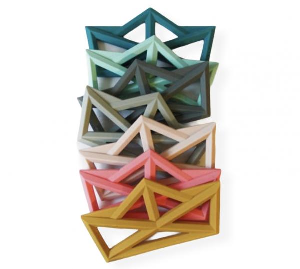 The Cotton Cloud Zahnungshelfer - Origami Boot