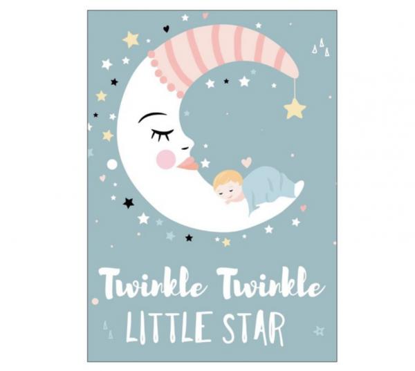 Postkarte 'Twinkle Twinkle little Star'