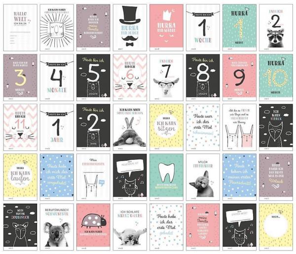 Milestone Fotokarten 'Stay Inspired'