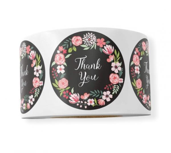 Aufkleber 'Thank you' - Variante 6