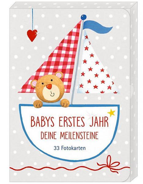 Milestone Fotokarten 'Babys erstes Jahr'