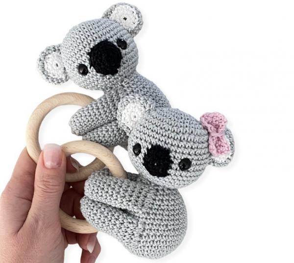 Häkel Greifling Koala Bär