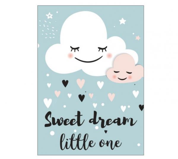 Postkarte 'Sweet Dreams Little One'