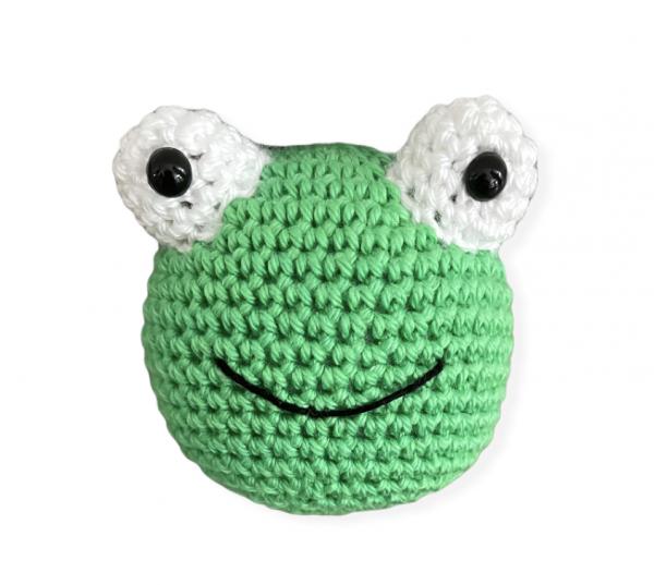 Häkeltier - Frosch