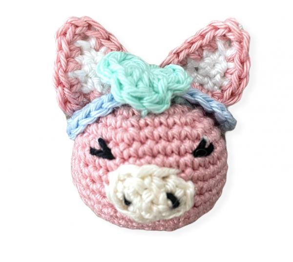 Häkeltier - Schweinchen Mini